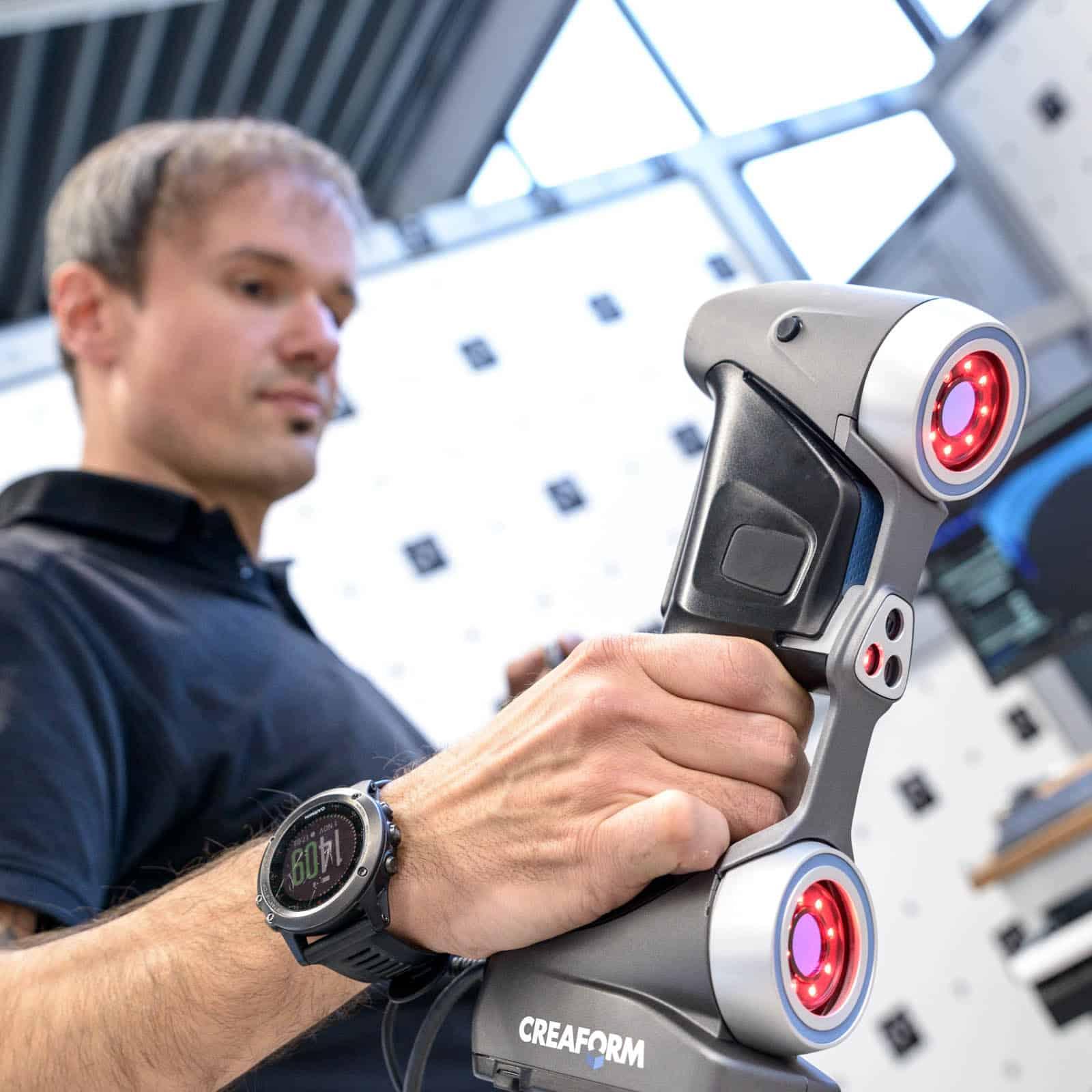 3D Laser Scanner CREAFORM HANDYSCAN 700